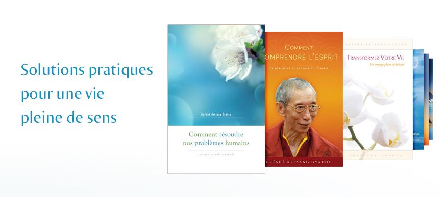 Livres sur le bouddhisme et la méditation