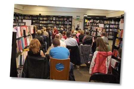 Bookshop Event - Waterstones, Bath