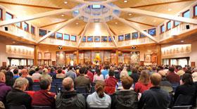 Attend teachings at NKT International Festivals