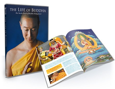 The Life of Buddha DVD