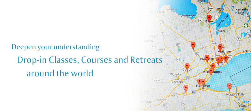 Find out about courses at your local meditation centre