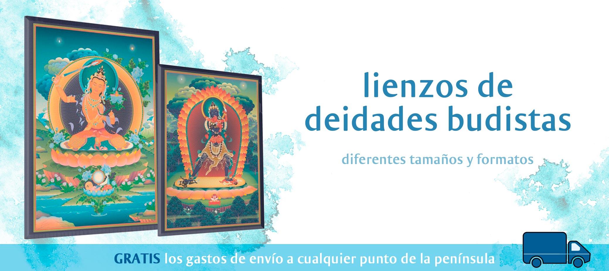 lienzos budistas cuadros arte