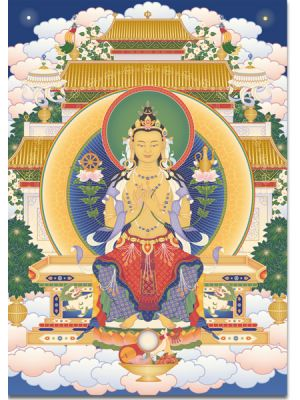 Maitreya 4 (sentado)