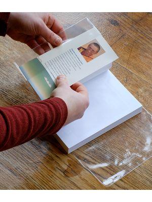 Plastic book cover - 216mm