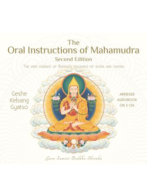The Oral Instructions of Mahamudra EN - paperback - front cover