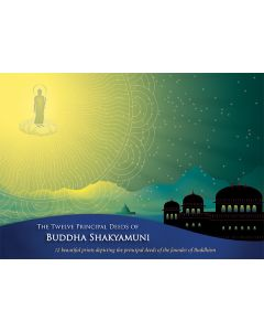 12 Principal Deeds of Buddha - Card Set - Front Cover