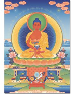 Amitabha 2 - A6 card, A5 large card, A4 small poster
