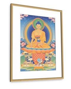 Buddha Shakyamuni 3 - 20x30 inch art print (frame not included)