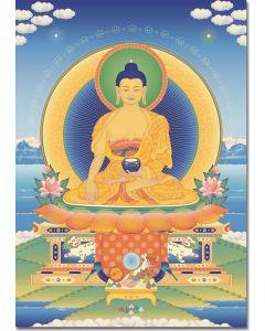Buddha Shakyamuni 3 - A6 card, A5 large card, A4 small poster