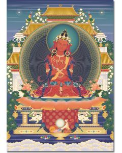 Vajradharma 2 - A6 card, A5 large card, A4 small poster