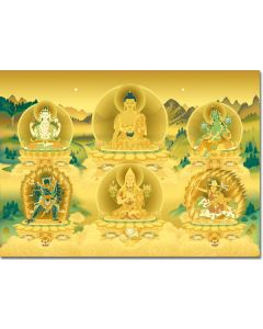 Deities of Kadampa Buddhism