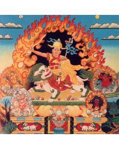 Dorje Shugden 5 Lineages poster