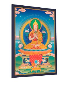 Guru Sumati Buddha Heruka 4 (on throne) - canvas print