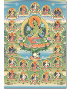 Green Tara 4 (and the 21 Taras)