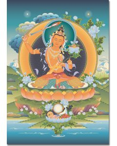 Manjushri 2 - A6 card, A5 large card, A4 small poster