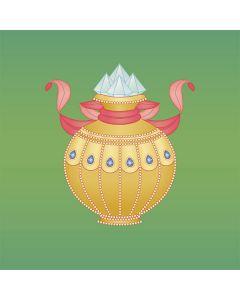 Precious Vase - Embossed Postcard