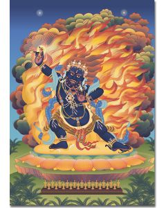 Vajrapani 2 - A6 card, A5 large card, A4 small poster