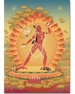 Vajrayogini 8 - A6 card, A5 large card, A4 small poster