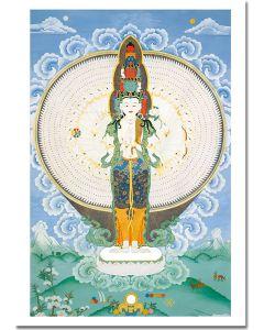 Avalokiteshvara de mil brazos 1
