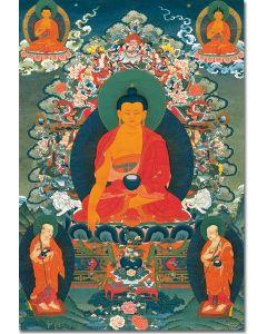 Buddha Shakyamuni 2 with Disciples