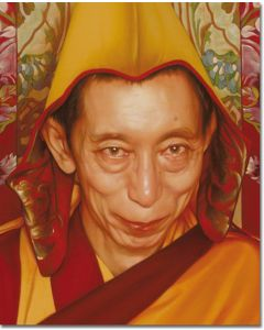 Geshe Kelsang 12 (Painting close-up)