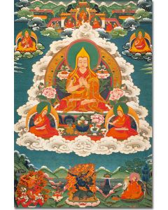 Je Tsongkhapa 2 (with Sons and Protectors)