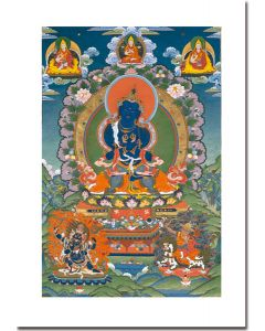 Vajradhara 2 (with Lineage Gurus and Protectors)