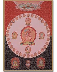 Vajrayogini 4 (Body Mandala)