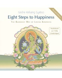Eight Steps to Happiness - Audiobook CD