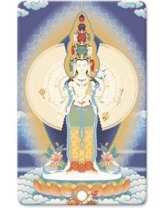 Avalokiteshvara de mil brazos 2 – minitarjeta