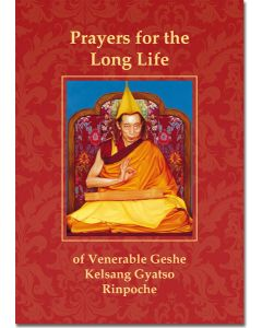 Prayers for the Long Life of Venerable Geshe Kelsang Gyatso Rinpoche - Booklet