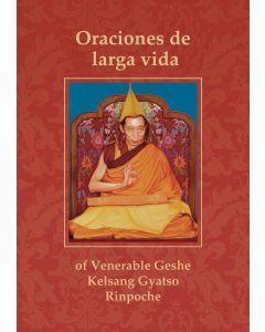 Oraciones de larga vida para el venerable Gueshe Kelsang