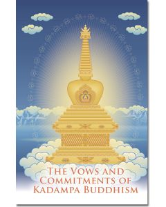 The Vows and Commitments of Kadampa Buddhism - Booklet
