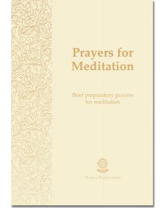 Prayers for Meditation - Booklet