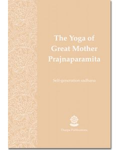 The Yoga of Great Mother Prajnaparamita - Booklet