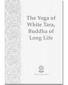 The Yoga of White Tara, Buddha of Long Life - Booklet