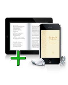Prayers for Meditation - eBooklet and MP3 Bundle