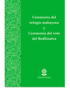 Ceremonia del refugio mahayana y ceremonia del voto del Bodhisatva – Librillo