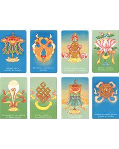 Colección de los ocho símbolos auspiciosos – minitarjetas