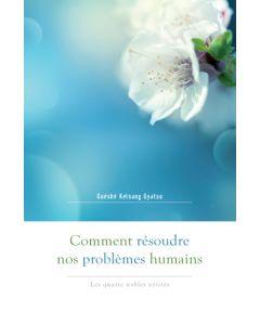 Comment Résoudre nos problèmes humains - recto