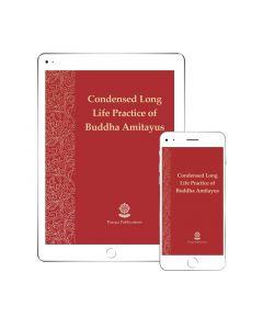 The Yoga of Buddha Amitayus - ebooklet EPUB format