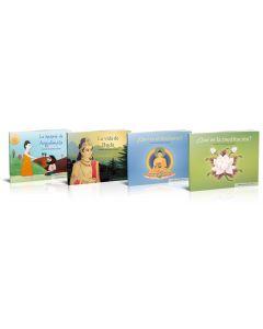 Colección completa budismo para niños. Niveles 1 a 4