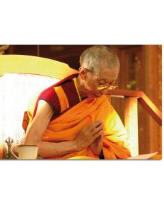 Geshe Kelsang Gyatso 09 (Praying) - A6 card