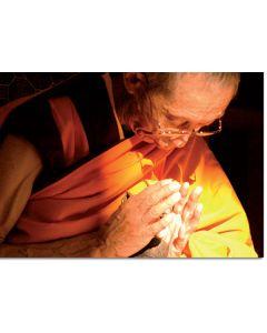 Geshe Kelsang Gyatso 10 (Hand mudra) - A6 card