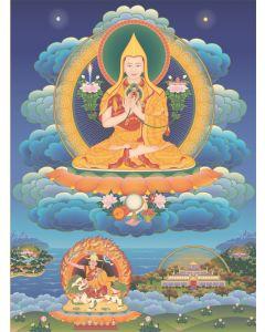 Guru Sumati Buddha Heruka 3 US (with temples)