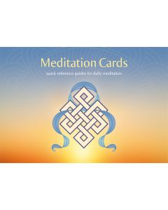 Meditation Cards Set - Front Cover