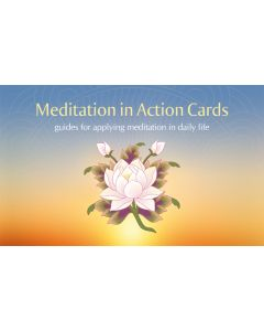 Meditation in Action Cards Set