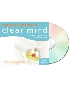 Meditations for a Clear Mind - CD