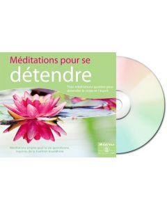 Méditations pour se détendre - digipack recto