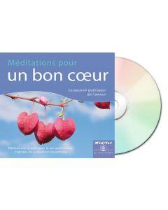 Méditations pour un bon coeur - digipack recto